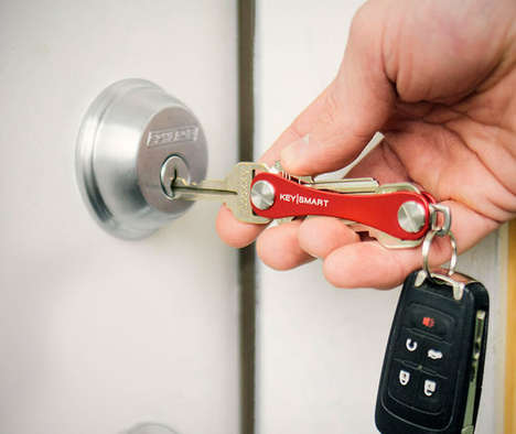 Multifaceted Key Holders - The KeySmart is a Swiss Army Knife That Holds All Your House Keys