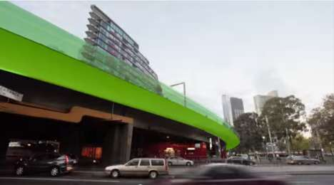 Elevated Bicycle Freeways - The Veloway is a Proposed Bicycle Freeway for the City of Melbourne