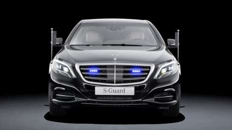 Armored Luxury Cars - The Mercedes S600 Guard Keeps You Safe and Swag