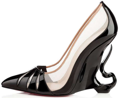 Evil Sorceress Footwear - Christian Louboutin's Maleficent Shoes Are Wickedly Stylish