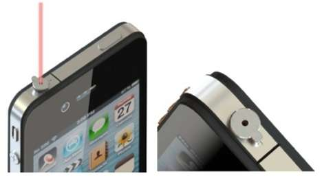 Laser Smartphone Pointers - This Laser Pointer iPhone Accessory is Great for Project Presentations
