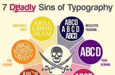 Sinful Typography Infographics