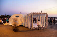 Space-Exploring Pavilions - 'Space + Image Pavilion' is Located in Mumbai
