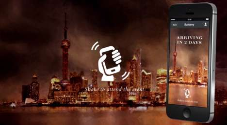 Fashion Messaging Campaigns - Burberry's Luxury Fashion Campaign Makes Use of WeChat