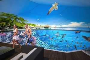 The Swimarium Allows You To Swim Alongside Virtual 3D Sharks