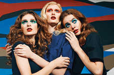 From Edgy Ladylike Editorials to 60s-Inspired Diva Fashion Ads