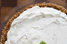 Enjoy a Slice of Frozen Mojito Pie Before the Last Days of Summer