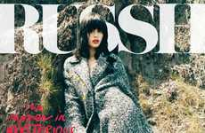 Edgy Free-Spirited Editorials - Sabrina Ioffreda for Russh Magazine is a Vision in Fall Fashion