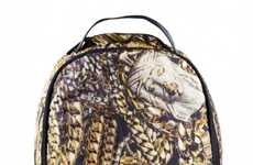 Bling-Adorned Carryall Couture - Sprayground's Treasure Jewels Backpack Celebrates Urban Opulence