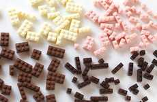 Edible Chocolate LEGO - Akihiro Mizuuchi Designs Delicious Building Blocks for All Ages
