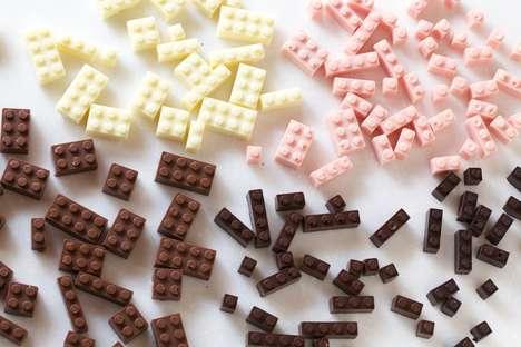 Edible Chocolate LEGO - Akihiro Mizuuchi Designs Delicious Building Blocks for All Ages