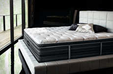 Luxurious Black Mattresses - This Elegant Beautyrest Mattress Comes in Black for a Sleeker Look