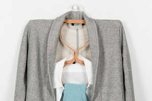 The Inside Out Hanger is Designed to Carry Matching Sets Of Shirts