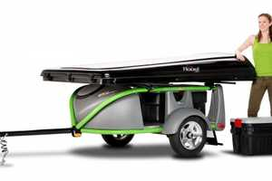 The GO-Easy Trailer Weighs Little But Can Carry a Lot