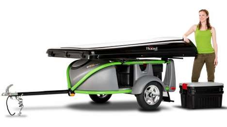 Lightweight Camping Trailers - The GO-Easy Trailer Weighs Little But Can Carry a Lot