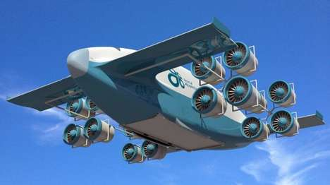 Humongous Cargo Airplanes - The VV-Plane Will Be Able to Carry Massive Loads at High Speed