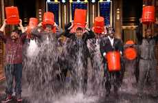 Frosty Disease Awareness Campaigns - The ALS Ice Bucket Challenge is Causing a Flood of Donations
