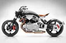 Swift Speedracer Motorcycles - The Hellcat Speedster Bicycle Design by Confederate is Built for Fun