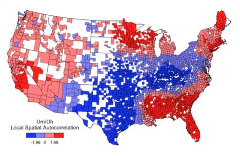 Language-Decoding Infographics - This Infographic Shows Where in the U.S. People Use 'Um' or 'Uh'