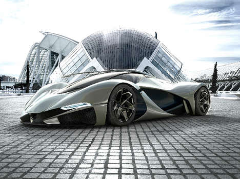 100 Futuristic Vehicle Designs - From Centenary Concept Cars to Contemporary Compact SUVs
