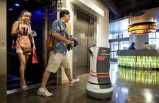 Robotic Hotel Butlers - The Botlr is a Robotic Server Designed by Aloft Hotels