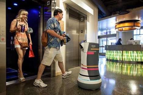 Robotic Hotel Butlers - The Botlr is a Robotic Server Designed by Aloft Hotels