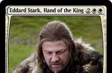 Fantasy Trading Cards - These Game of Thrones Magic the Gathering Cards Were Made by a Fan