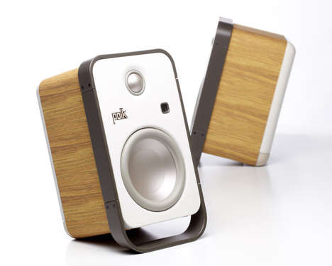 32 Wooden Technology Designs - From Wireless Wooden Chargers to Vintage Radio Phone Docks