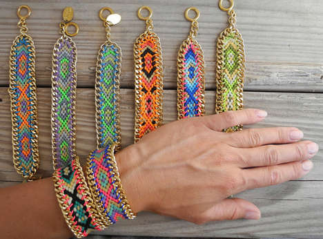 65 Bohemian Bracelets for Hipsters - From Celestial Star Cuffs to Bohemian Woven Bangles