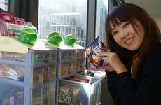 Desk Vending Machines - The Office Glico is a Japanese Vending Machine for Office Workers