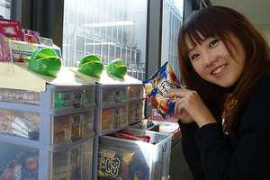 The Office Glico is a Japanese Vending Machine for Office Workers