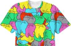 Cavity-Inducing Statement Tees - Tyler Spangler's Tooth Print T-Shirt is Inspired by Pop Art Imagery