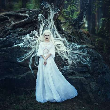 Stunning Magical Photography - Margarita Kareva Captures Enchanting Worlds with Gorgeous Women