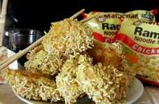 19 Remixed Ramen Recipes - From Peculiar Ramen Poutines to Ramen Chicken Nuggets