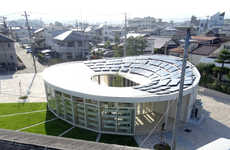 Revived Community Buildings - The Kodomo Art Maison Center Was Destroyed by Japan's 2011 Earthquake