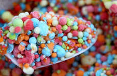 Augmented Reality Reward Services - Dippin' Dots Loyalty Program Designs Ice Cream for the Future
