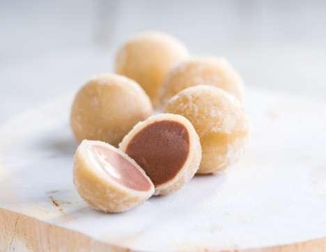 Self-Contained Froyo Balls - Stonyfield's Frozen Yogurt Pearls Cut Down on Frozen Yogurt Packaging