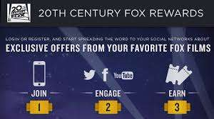 Viewer-Engaging Loyalty Programs - The Fox Rewards Service Helps You Get Free Movie Tickets