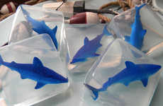 Ocean Predator Soaps - Etsy's Oooh-La-La The Soap Bar Shop Features Handmade Shark Soaps