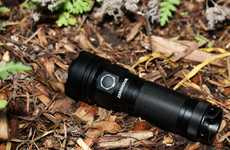 Versatile Tactical Flashlights - The ZeroHour Flashlight Doubles as a Portable Battery
