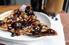 Nutty Jam Pizzas - The PB+J Pizza Flavor by Dimo's is Just Like the Nostalgic Sandwich