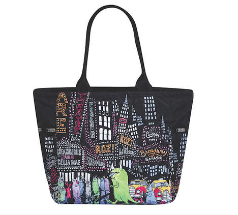 Monstrous Disney Purses - These Disney Monsters, Inc. Bags are Great for Back to School