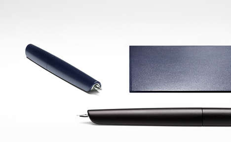 Luxurious Fashion House Pens - Hermes and Marc Newson Collaborate to Make the 'Nautilus'