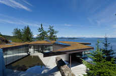Cliffside Glass Abodes