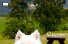 Pet Activity Apps - Tractive's MOTION Pet Tracker App Monitors a Pet's Daily Movement
