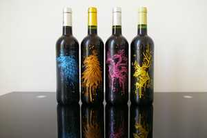 These Customized Game of Thrones Wine Bottles Come in a Box Set