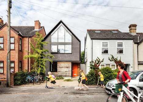 Contemporary Oxford Homes - This Gabled House Features a Modern Spin