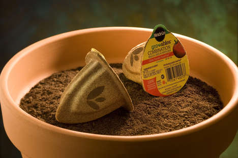 Eco-Friendly Garden Pods - Miracle-Gro's Gro-able Garden Seed Pods Make Gardening Simple