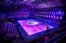 LED Basketball Courts