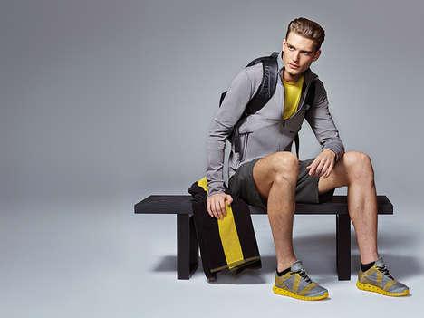 Minimalist Gym Apparel - This Modern Gym Apparel is Designed by Adidas' Porsche Design Sport Project